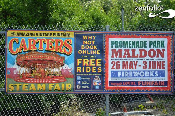 David Arnold Photos Carters Steam Fair Setting Up At Promenade